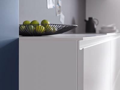 Greeploze keukenkast - Küchen Design Kleve