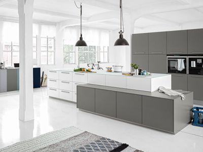 Sfeervol keukeneiland - Keuken kopen in Duitsland Kleve