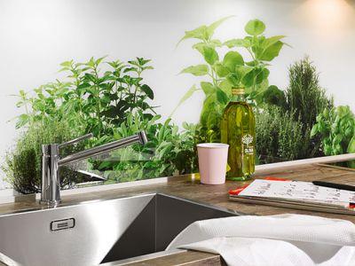 Maatwerk achterwand keuken - Keuken kopen in Duitsland - Küchen Design Kleve