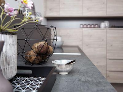 Küchen Design Kleve - Duitse keukens - mat granieten werkblad