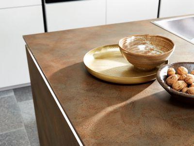 Design keuken - geborsteld composiet - Küchen Design Kleve